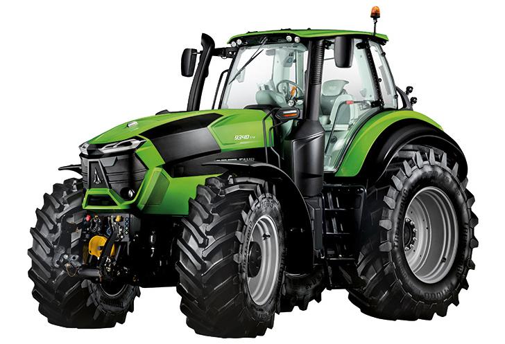 Deutz-Fahr traktorer 9-serien - u ltramoderna, högteknologiska och intelligenta traktorer i den högre effektklassen