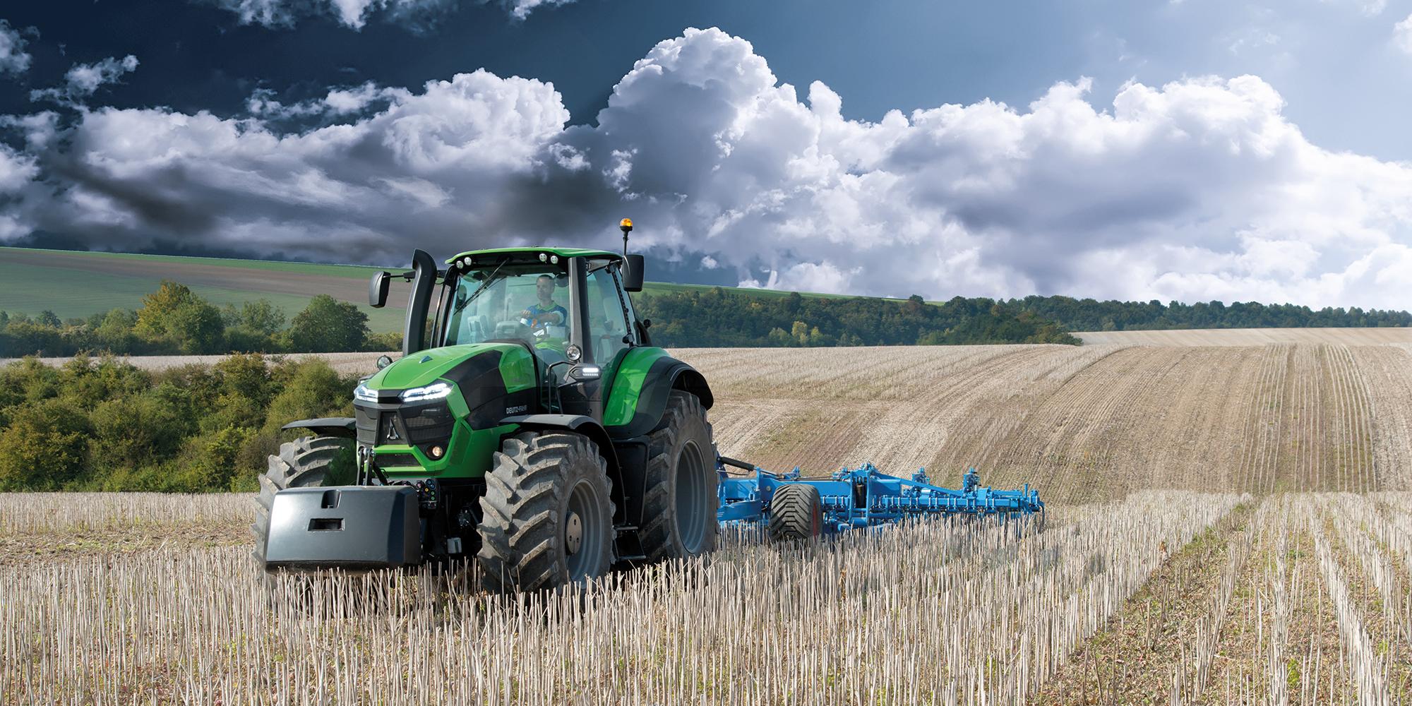 Deutz-Fahr traktorer 9-serien - ultramoderna, högteknologiska och intelligenta traktorer.