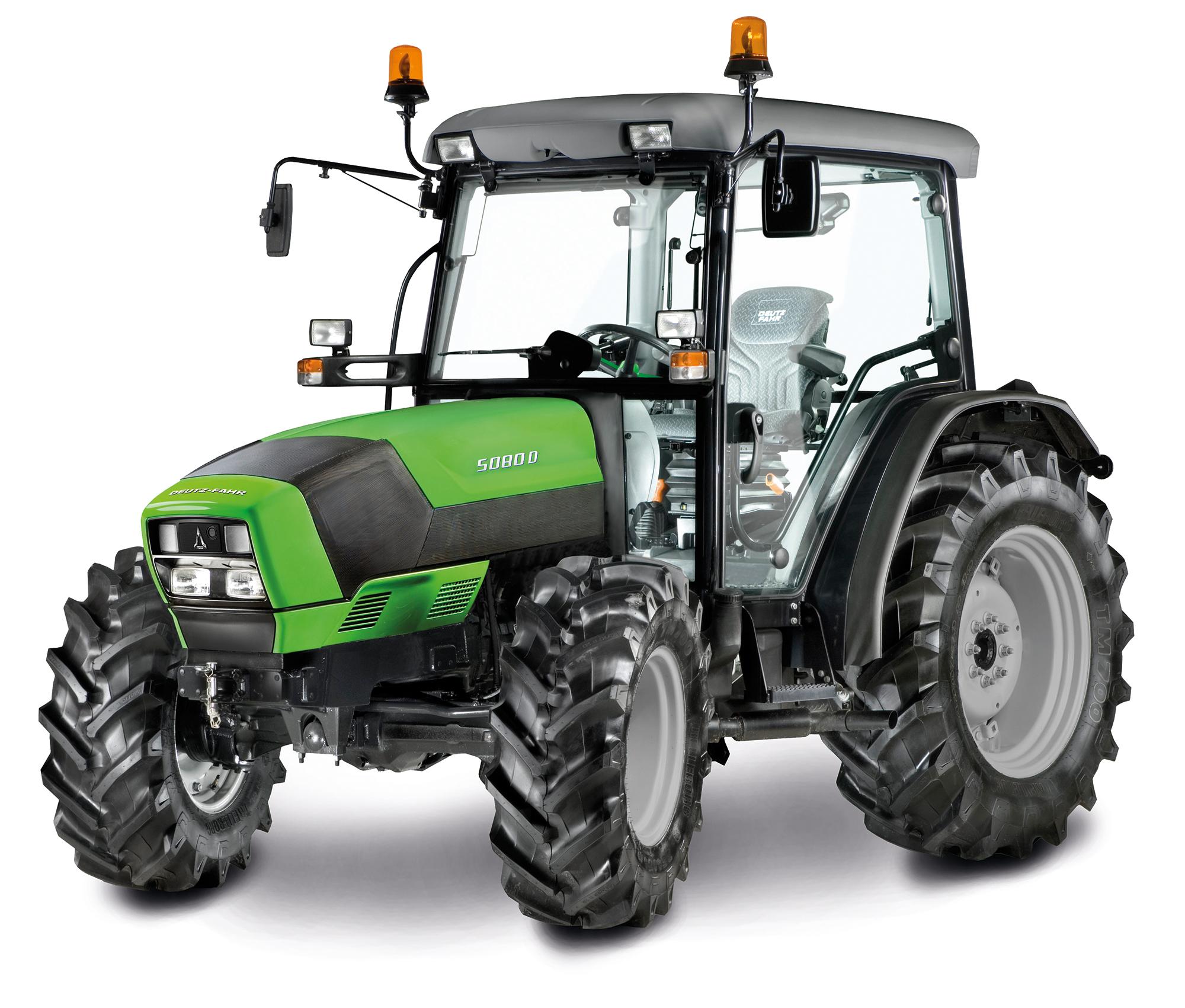 Deutz-Fahr 5D-serien, traktorer med maximal teknologi och ergonomi i minsta möjliga förpackning