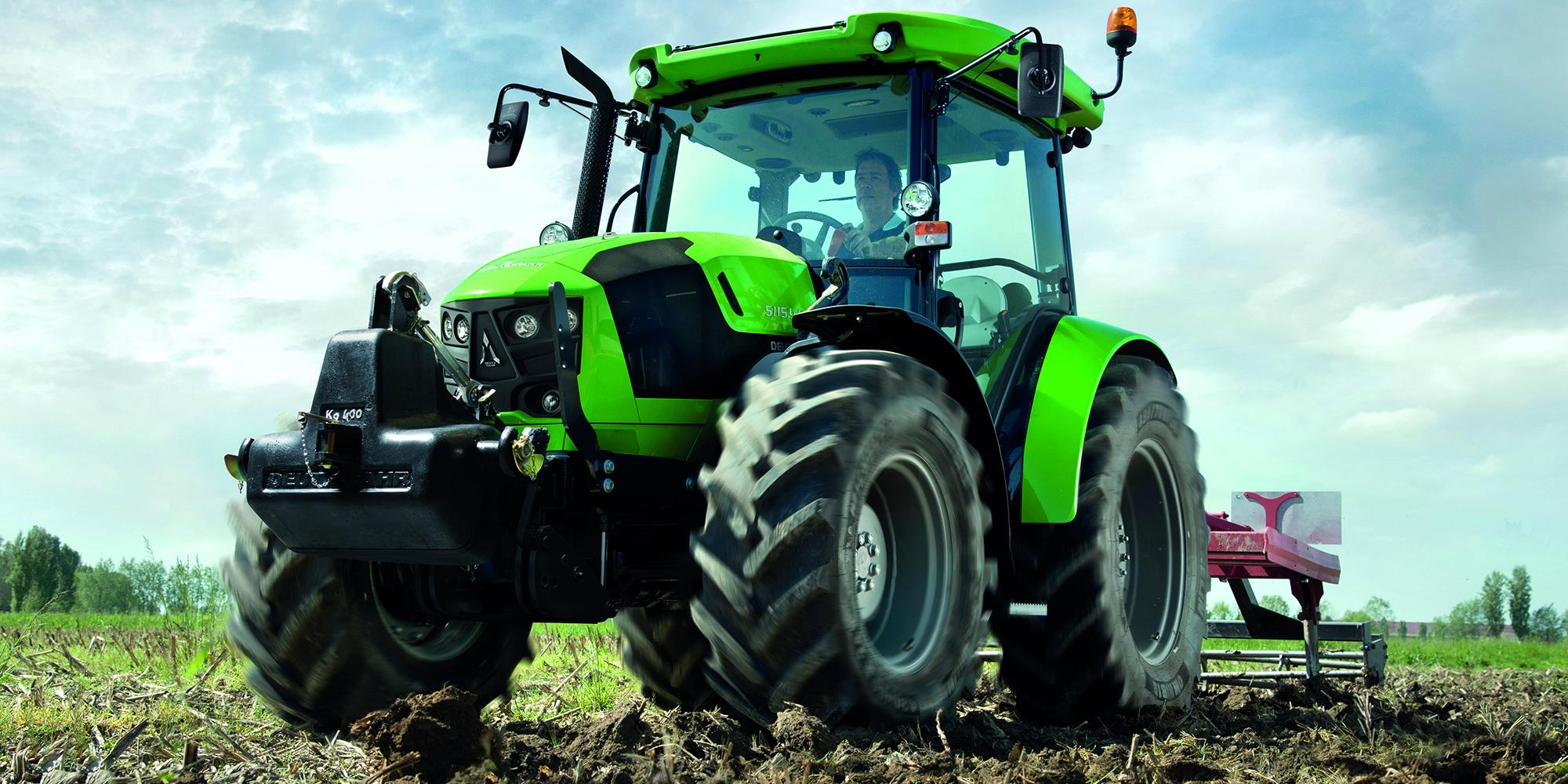 Deutz-Fahr 5G-serien: mångsidiga traktorer. Växtodling, mjölproduktion, köttproduktion, entreprenad