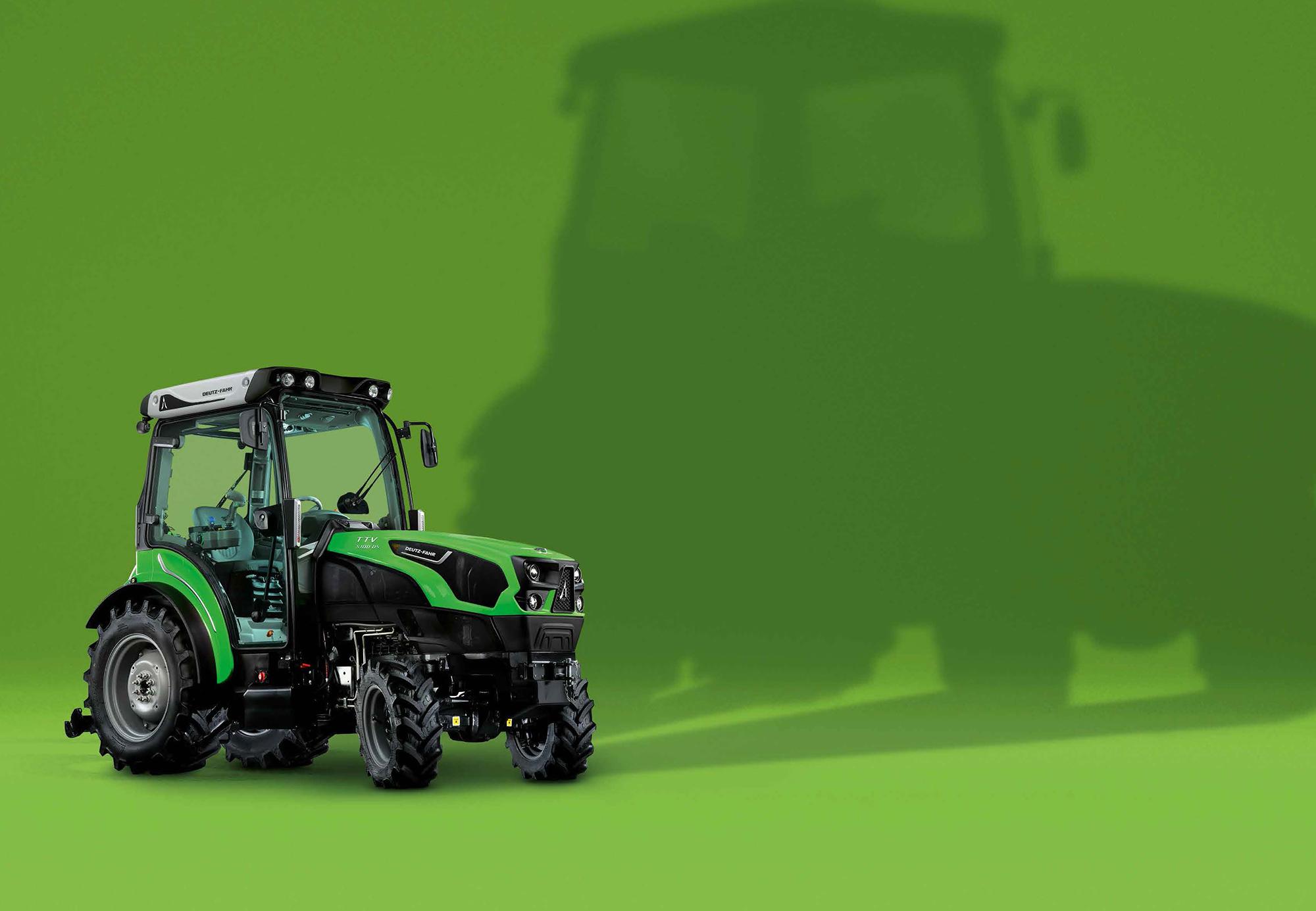 Traktorer med maximal teknologi och ergonomi i minsta möjliga förpackning