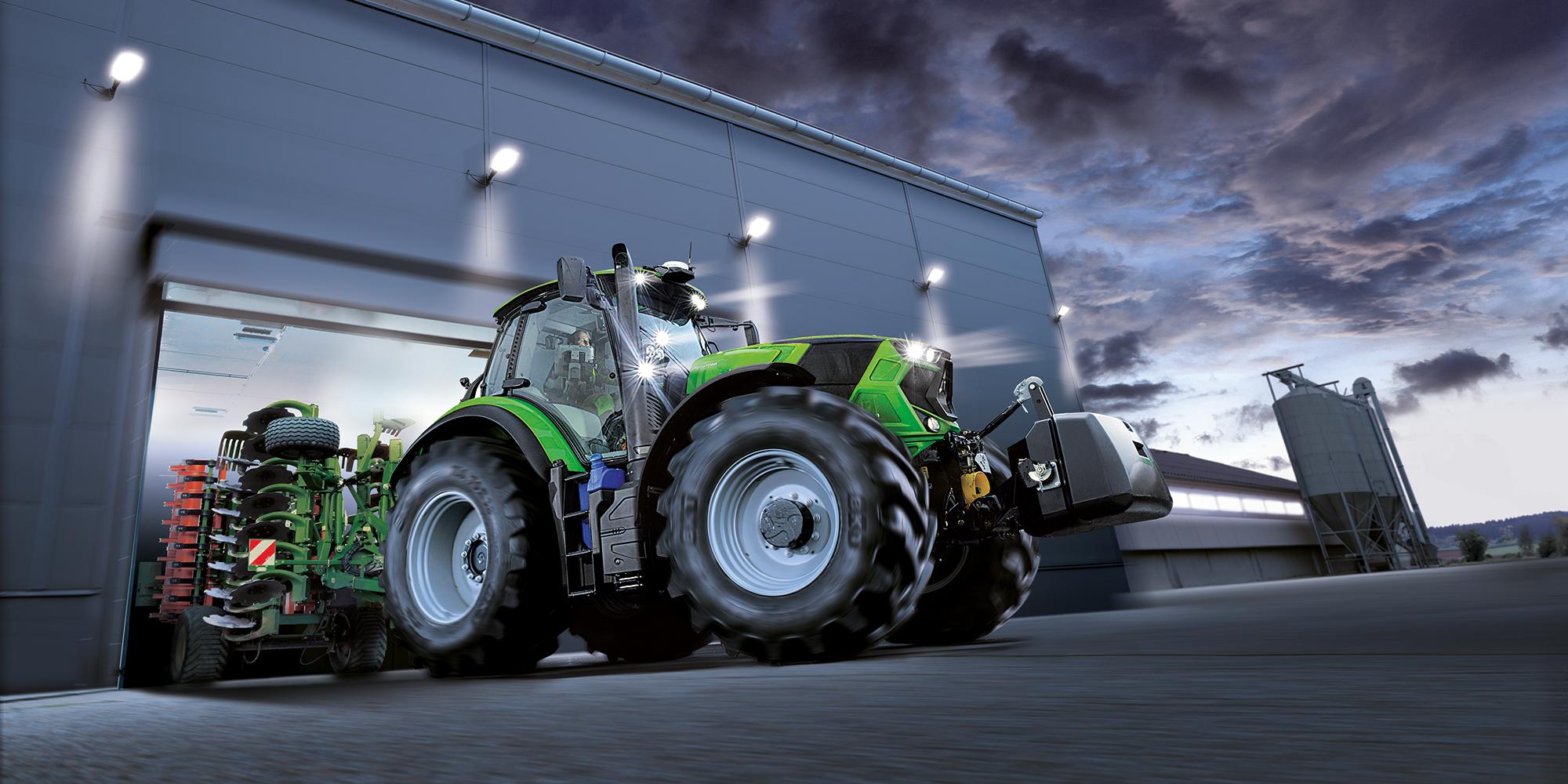 Deutz-Fahr traktorer 7 serien