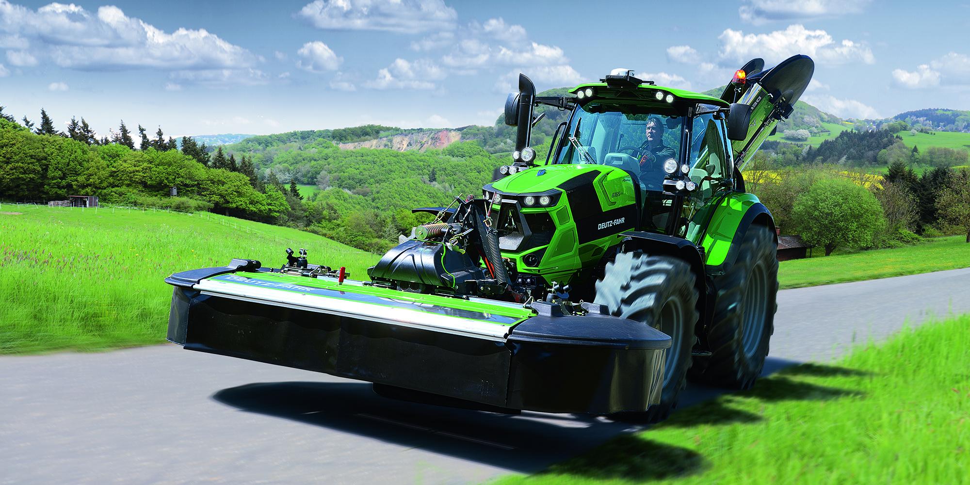 Deutz-Fahr 6 serien, högpresterande traktorer