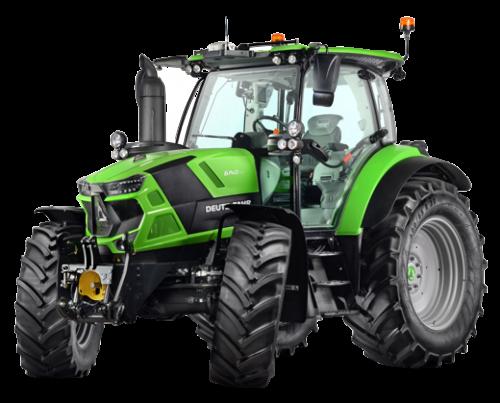 Deutz-Fahr 6E-Class kompakta, fyrcylindriga traktorer i den lägre effektklassen