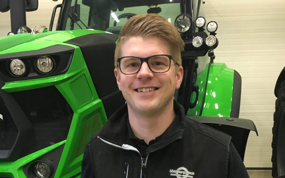 Joakim Franzén stärker satsning på lantbruk i Östergötland