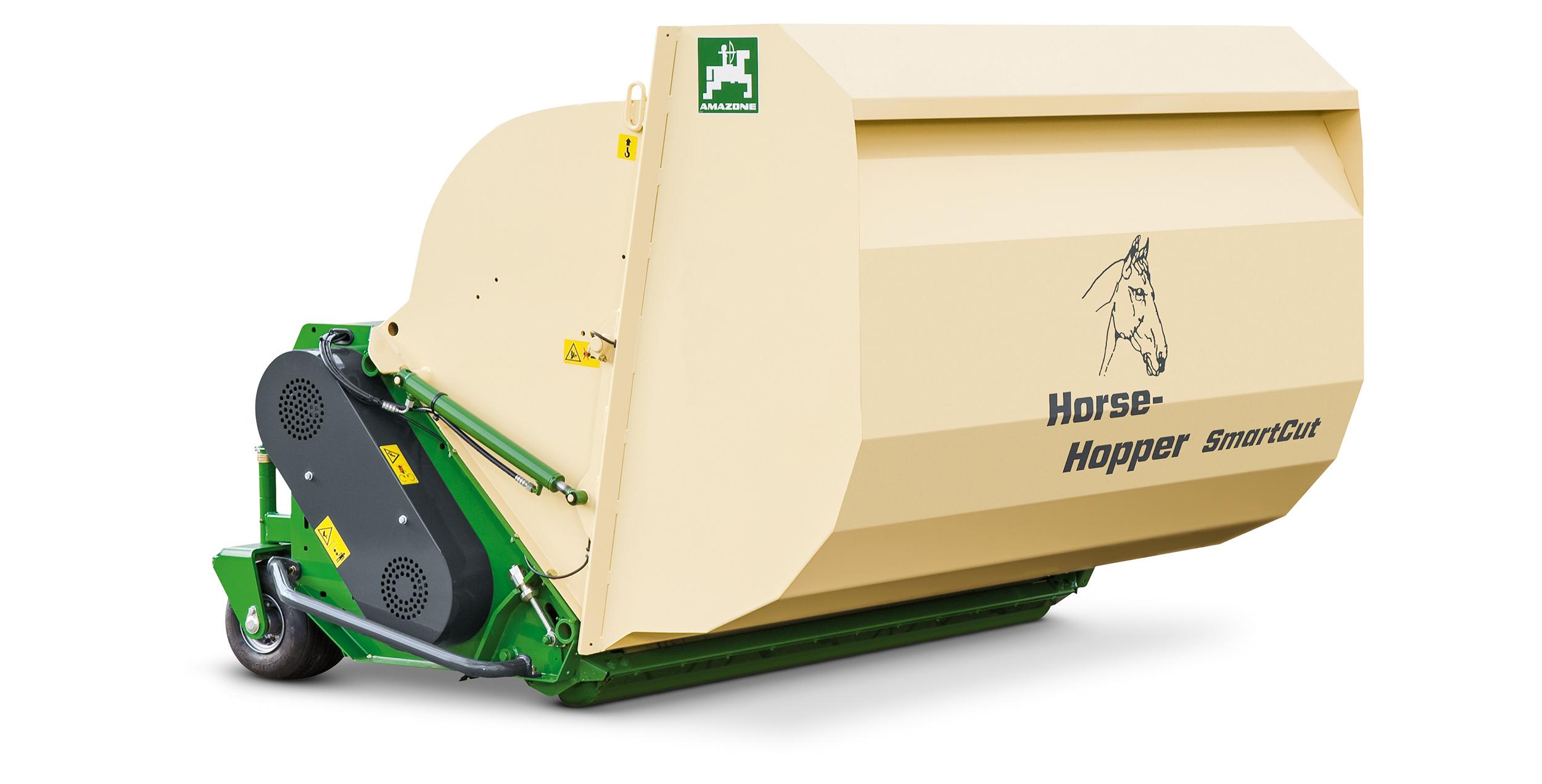 Amazone Horsehopper - ta bort hästspillning