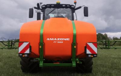 Amazone fronttank FT 1502 med UF 1602 och UF 2002
