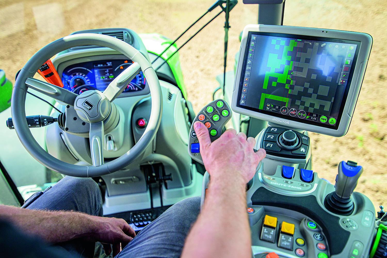 Traktorhytt, Deutz-Fahr traktorer 7 serien