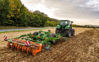 Amazone Ceus 3000-TX och 4000-TX, kombinerade kultivator/tallriksharvar för optimal inblandning av växtrester